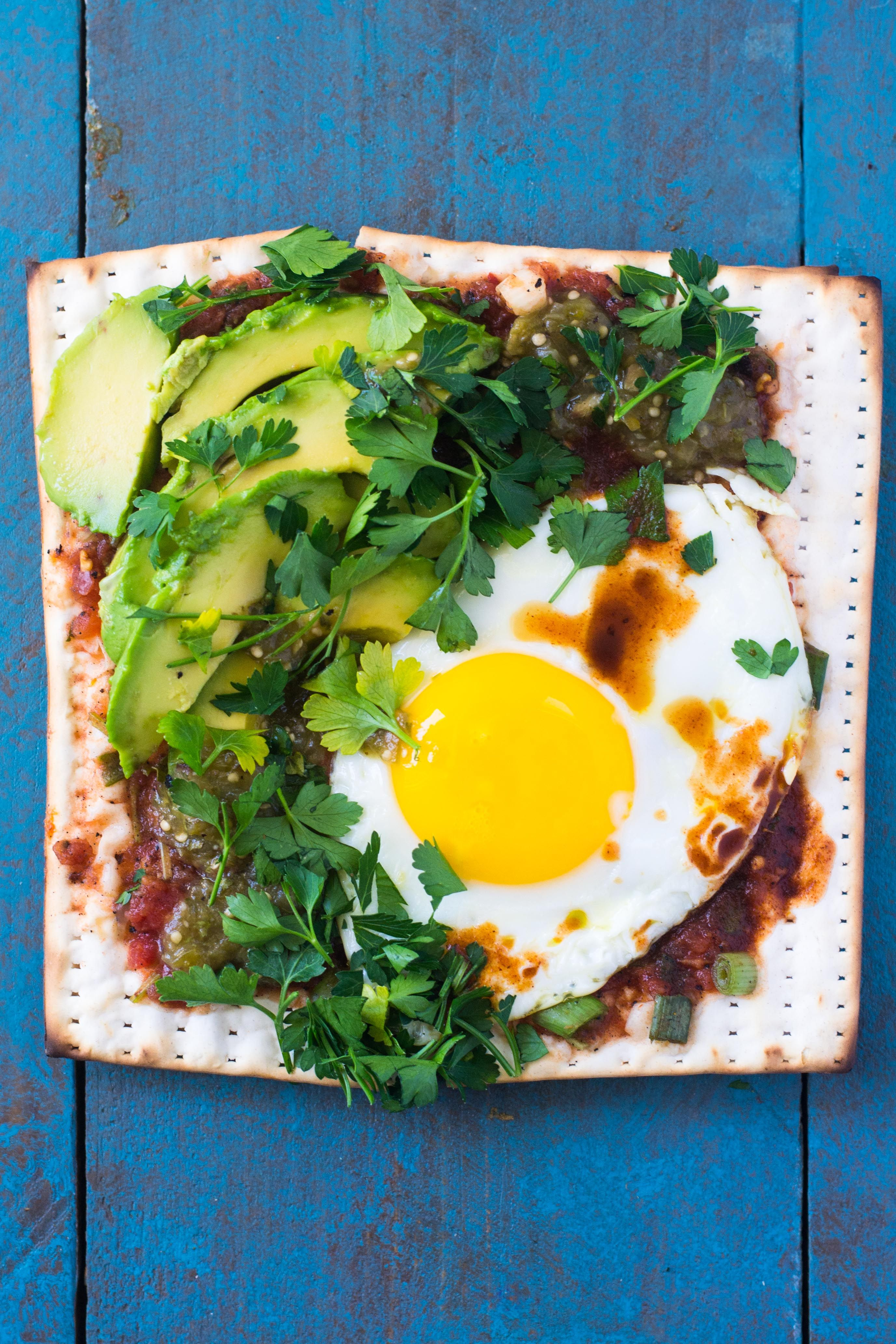 Matzo Juevos Rancheros and Other Toppings from Around the World