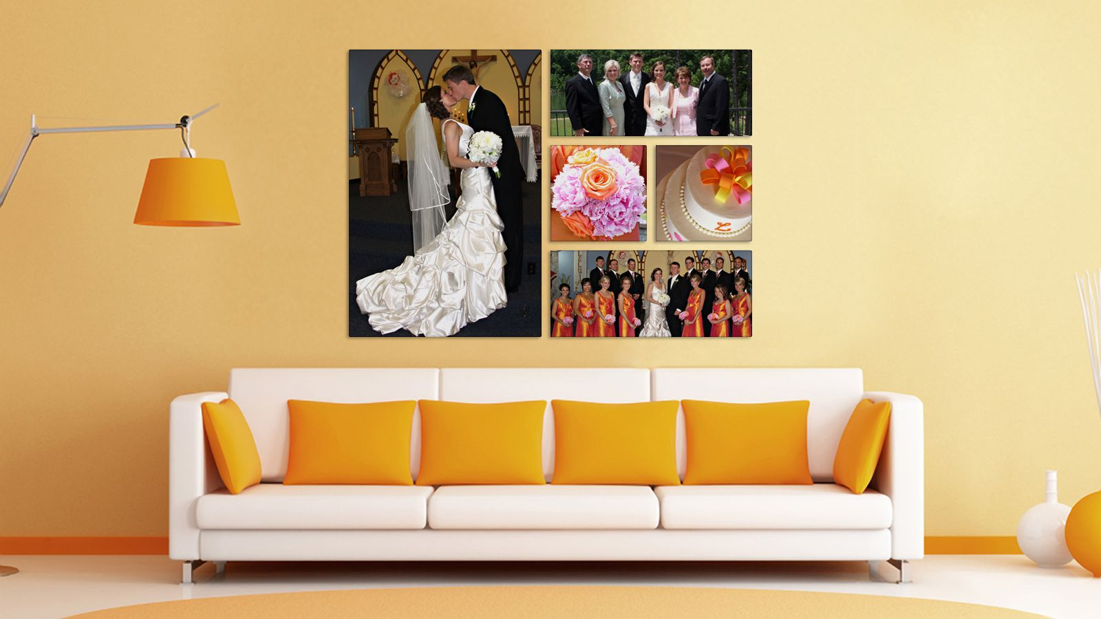 Why choose to display just one picture of your wedding photo shoot make your own compilation of metal prints on chromaluxe and enjoy your wedding images find the perfect wall decor for amipublicfo Choice Image