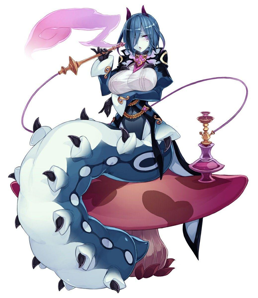 Wonder Worm In 2020 Monster Girl Encyclopedia Monster Girl Encyclopedia Wiki Anime Monsters