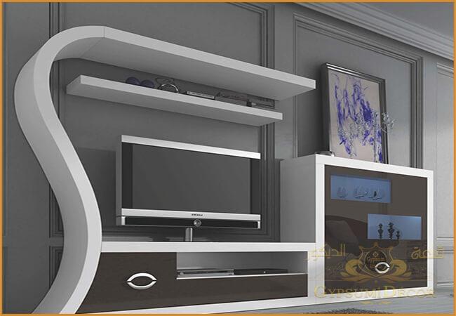 احدث مكتبات التلفزيون 2021 Interior Design Modern House Modern Decor