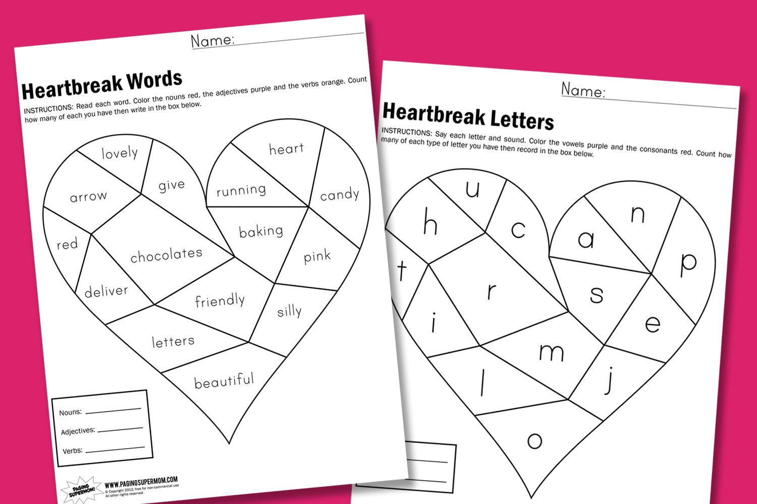 worksheet Valentine Worksheets For Preschool 1000 images about valentines class party on pinterest valentine ideas and heart