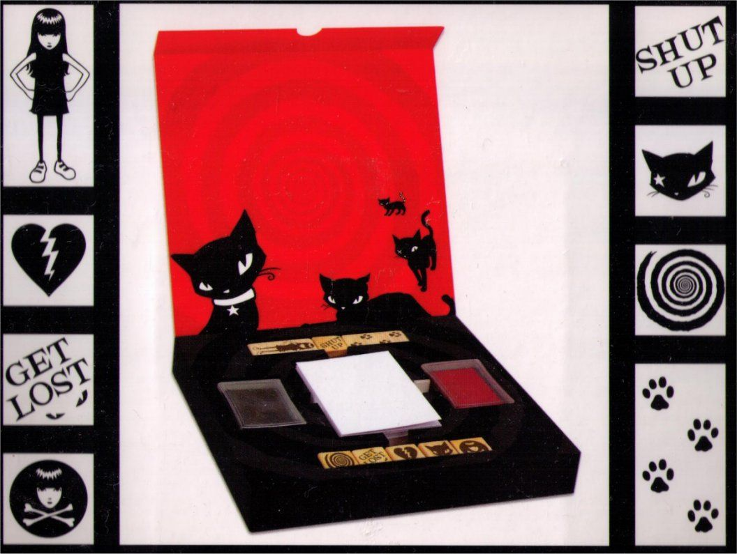 Emily the Strange Stamps of Disapproval Set 10-985 - $24.99