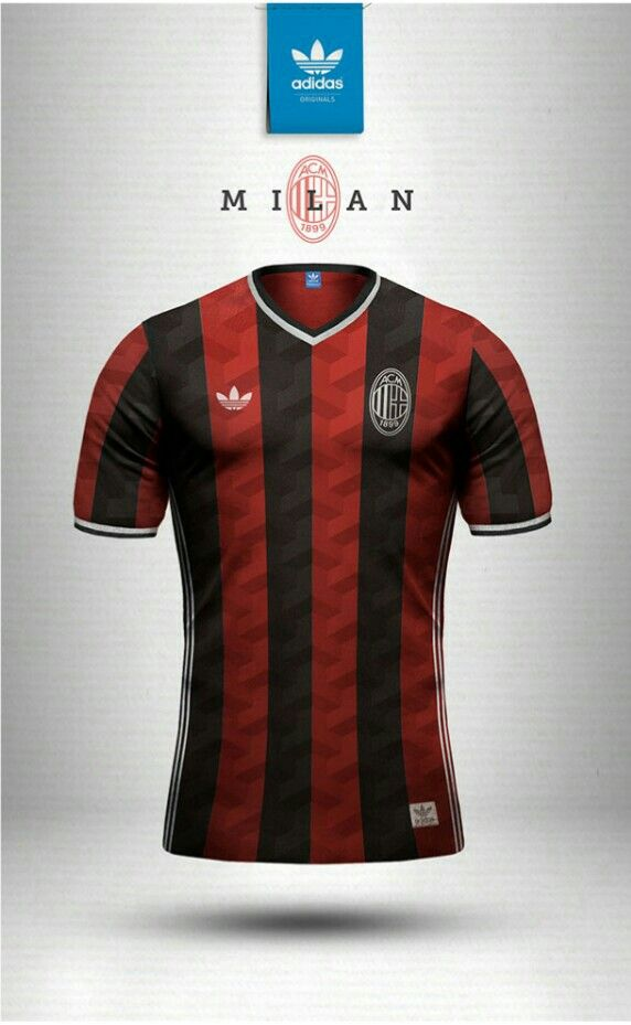6fbd3926006c0 A.C. Milan adidas vintage shirt