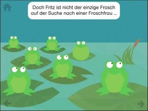 Fritz Frosch - Biologieunterricht per Bilderbuch App