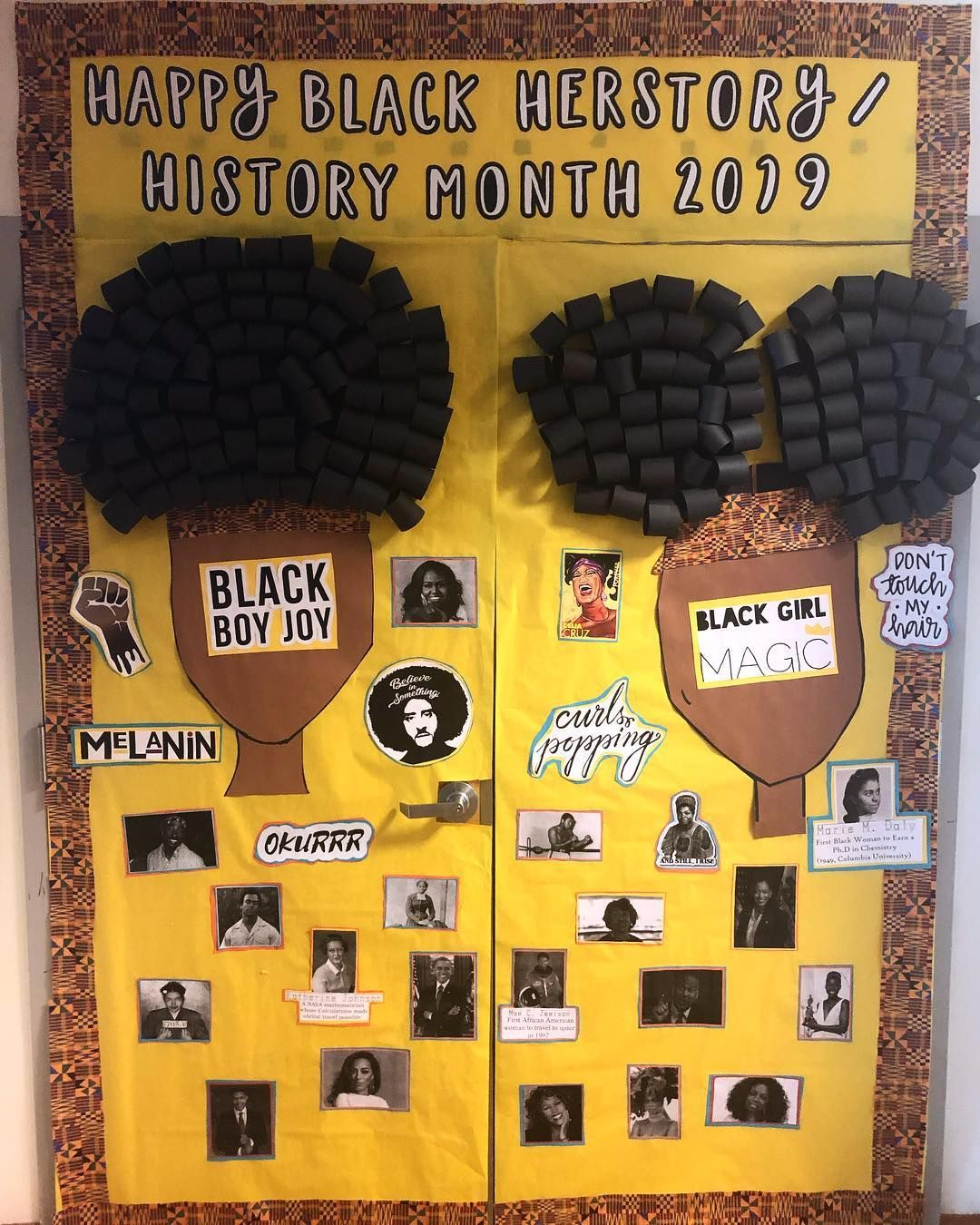 Photo of These Teachers Already Won Black History Month With These Door Decorations