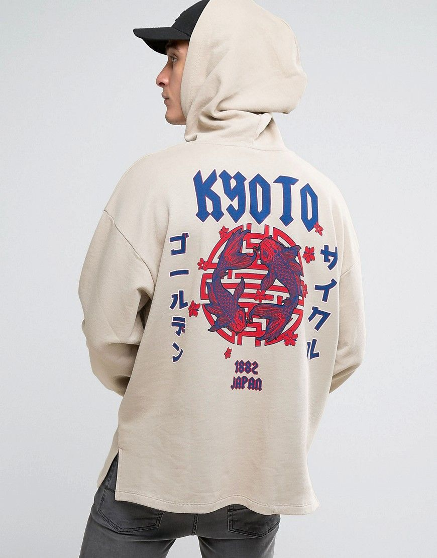 3e89efd30 Oversized Hoodie With Kyoto Back Print in 2019 | My Style ...