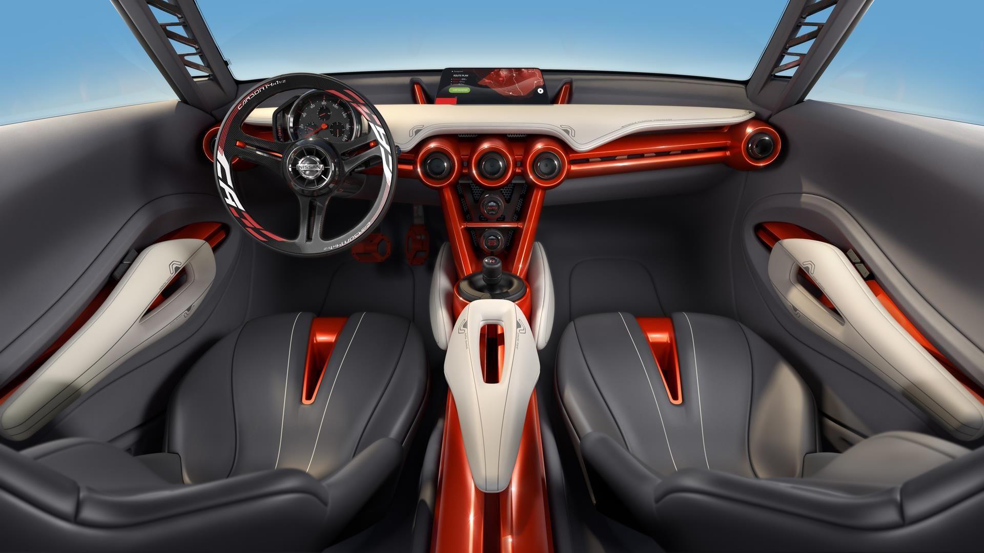 2015 Nissan Gripz Concept Images Nissan Sporty Suv Car Interior