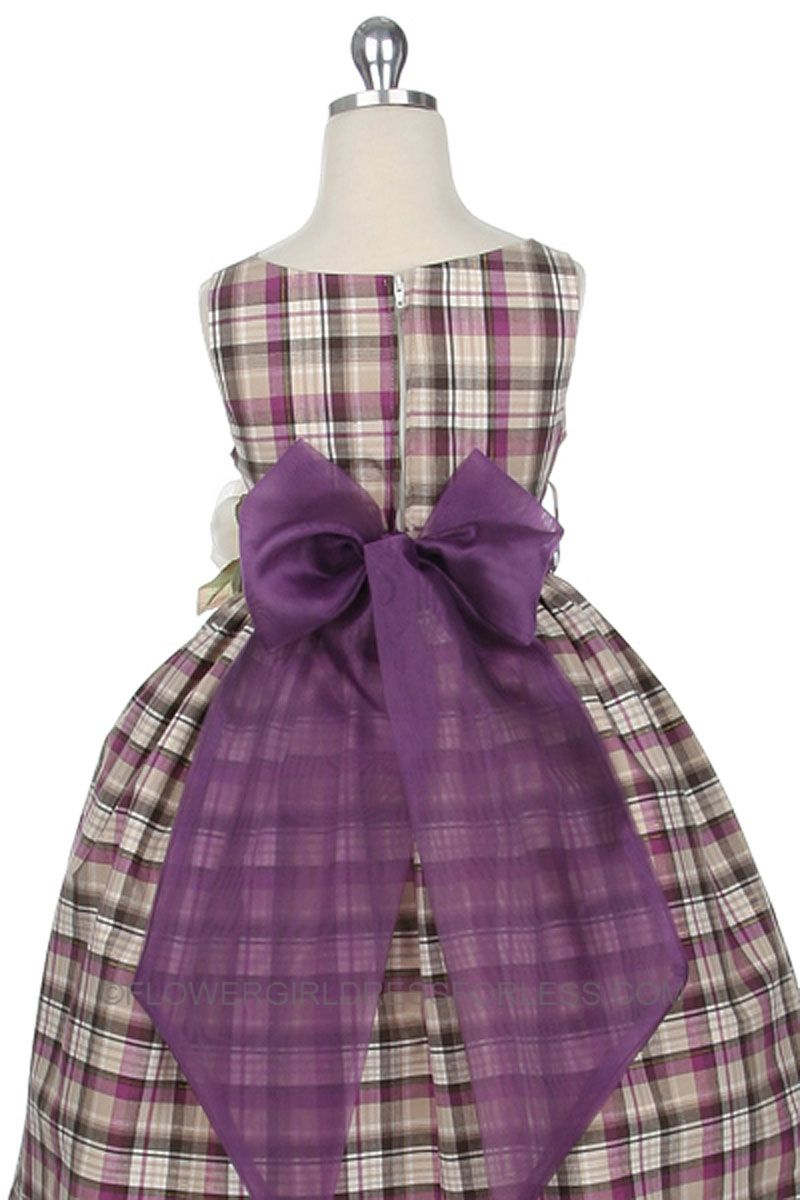 PLAID FLOWER GIRL - Google Search | That Day Ideas | Pinterest ...