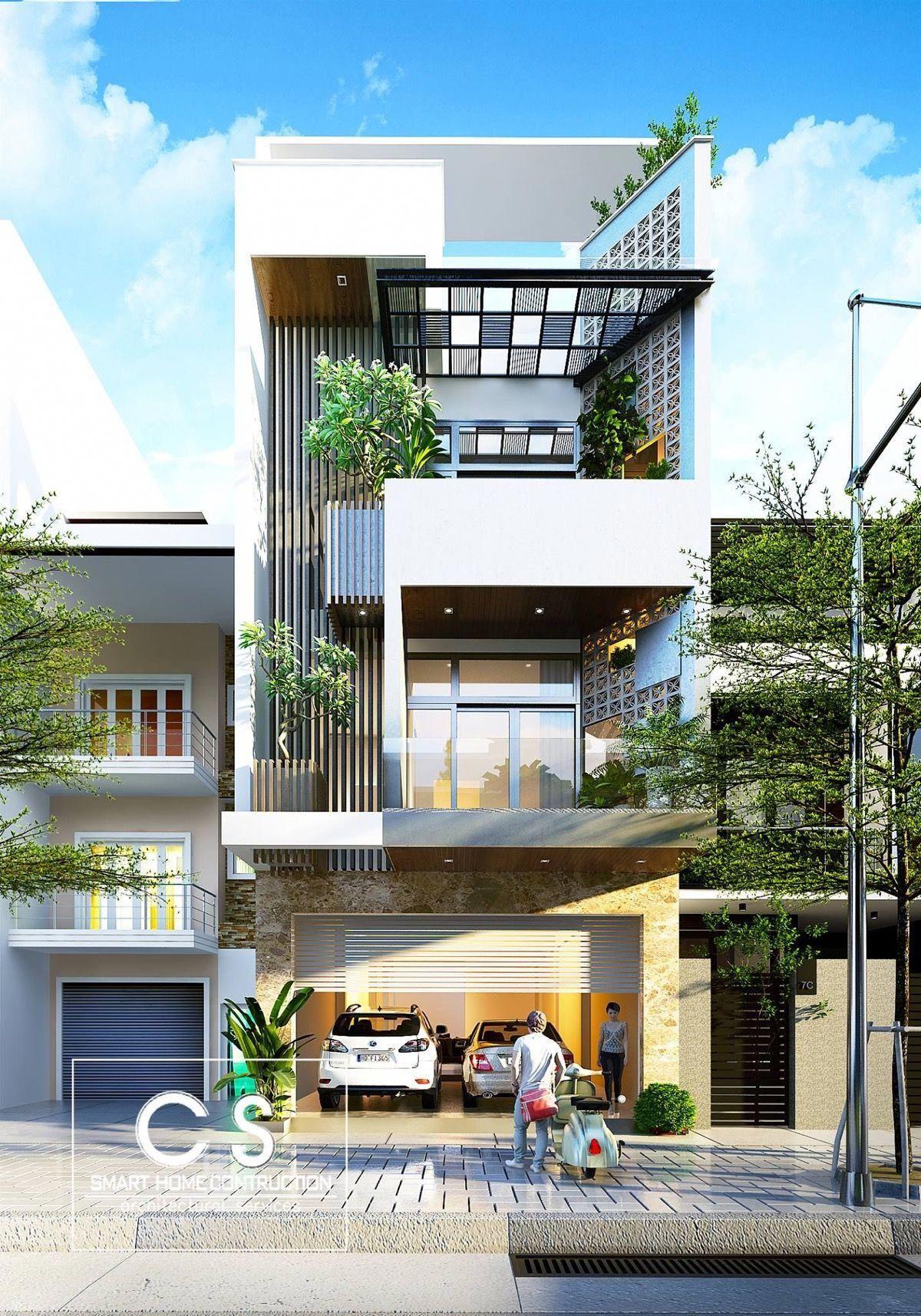 50 Narrow Lot Houses That Transform A Skinny Exterior Into ...