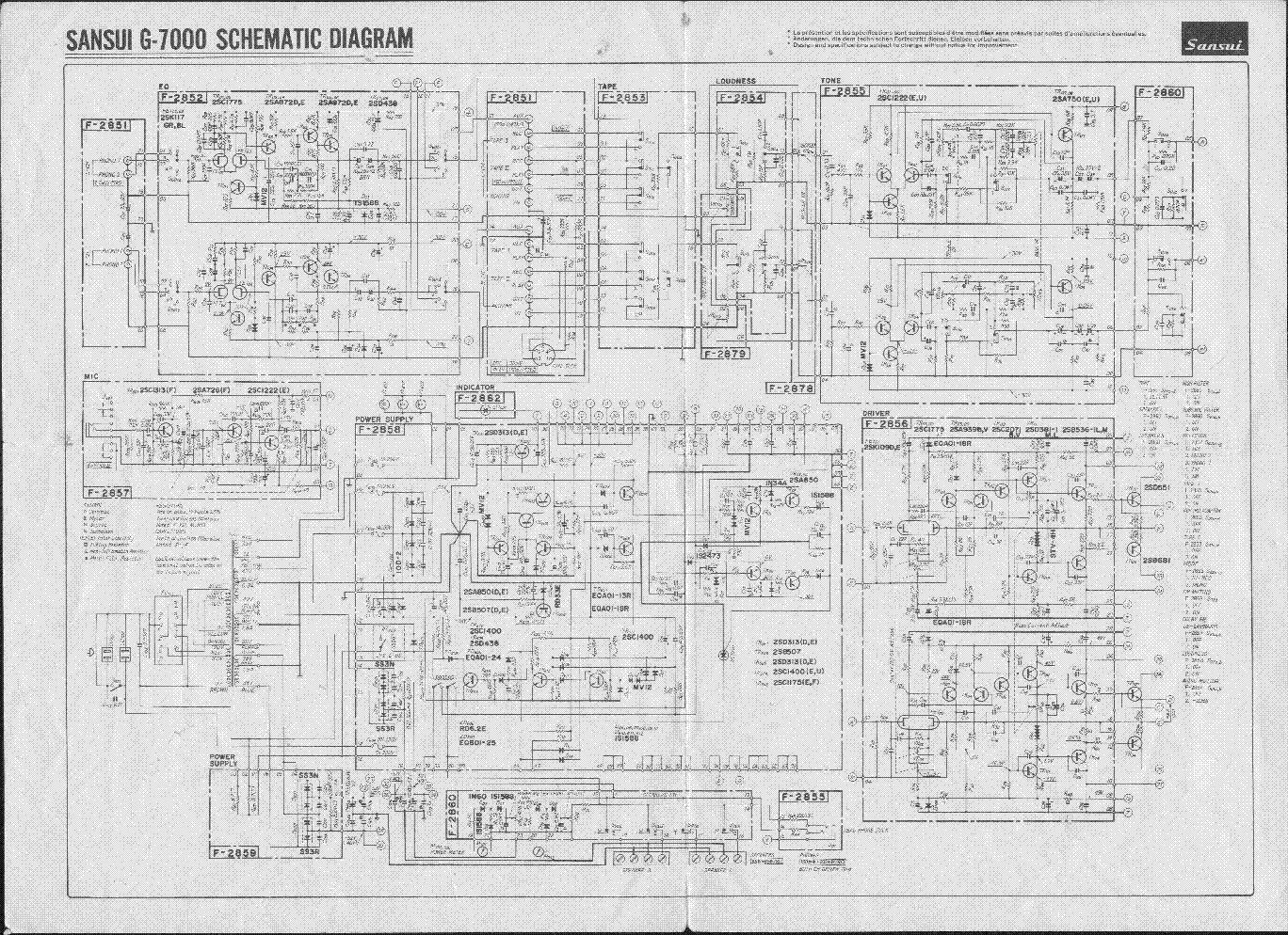 sansui au 7900 service manual