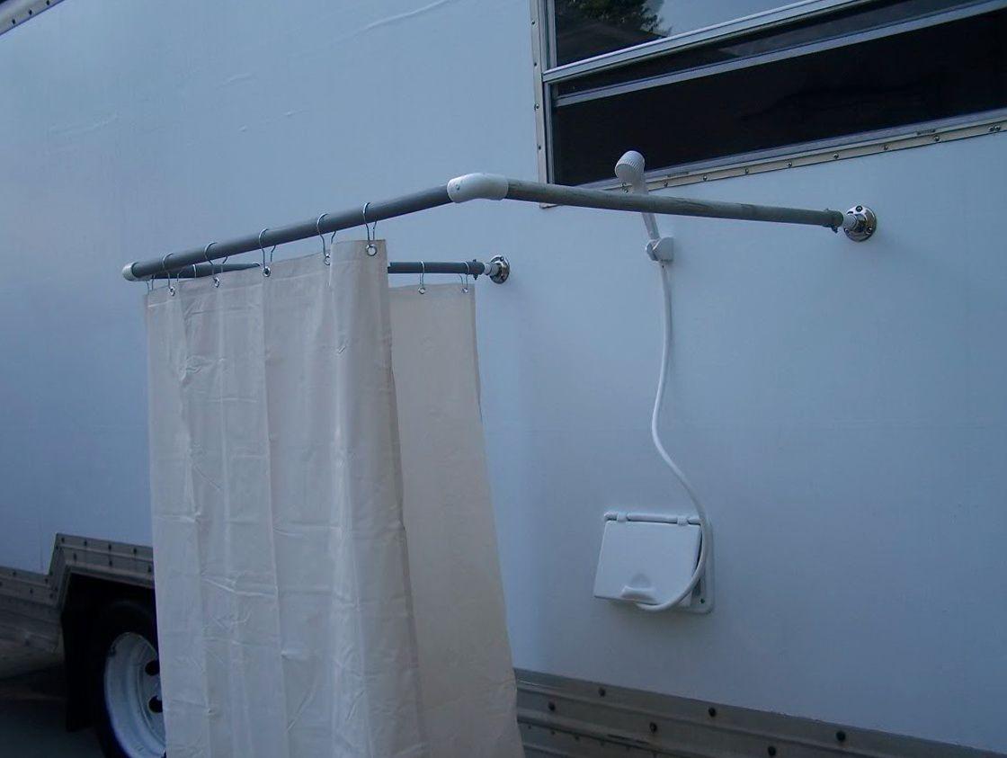 outdoor shower curtain ideas diy