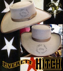 fd53bdfc150 Everett Hitch hat Sombreros Occidentales