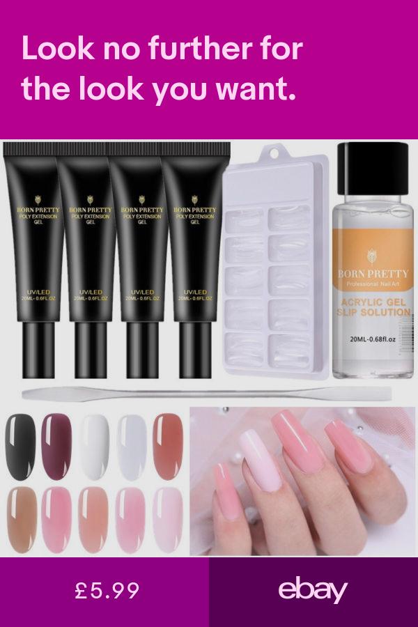 Gel Nails Health Beauty Ebay Uv Gel Nail Polish Nail Polish Uv Gel Nails