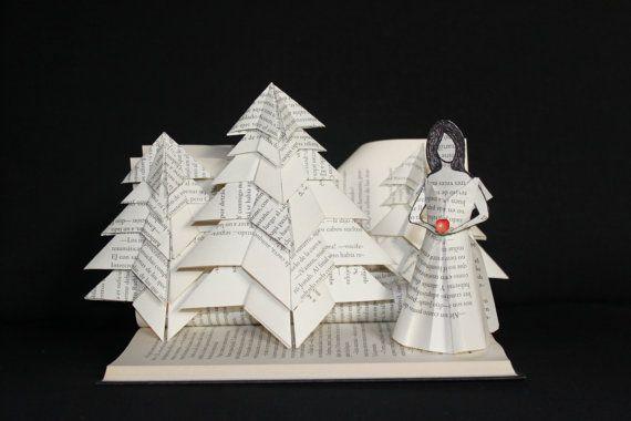 "Libro-escultura ""Blancanieves"""