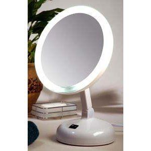 Floxite Fl-10jh 10x Incandescent Lighted Vanity Mirror, Pearl (Misc.)  http://www.amazon.com/dp/B001FRQ78Q/?tag=goandtalk-20  B001FRQ78Q