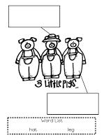 First Grade Blue Skies: Three Little Pigs! Freebie