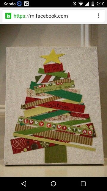 Fun to do with scrapbooking paper...