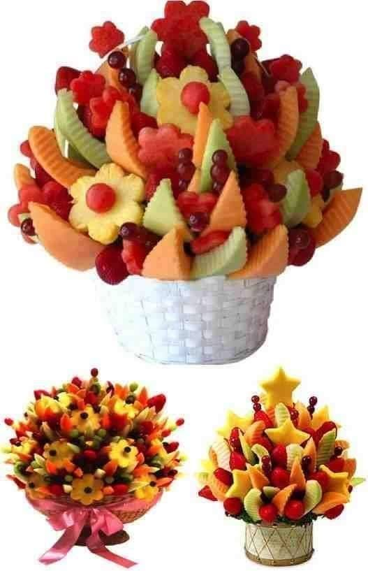 Dica para mesa de frutas do Natal