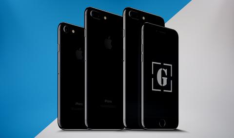 Download Free Iphone 7 Iphone 7 Plus Jet Black Psd Mockup Iphone 7 Plus Iphone Mockup New Iphone