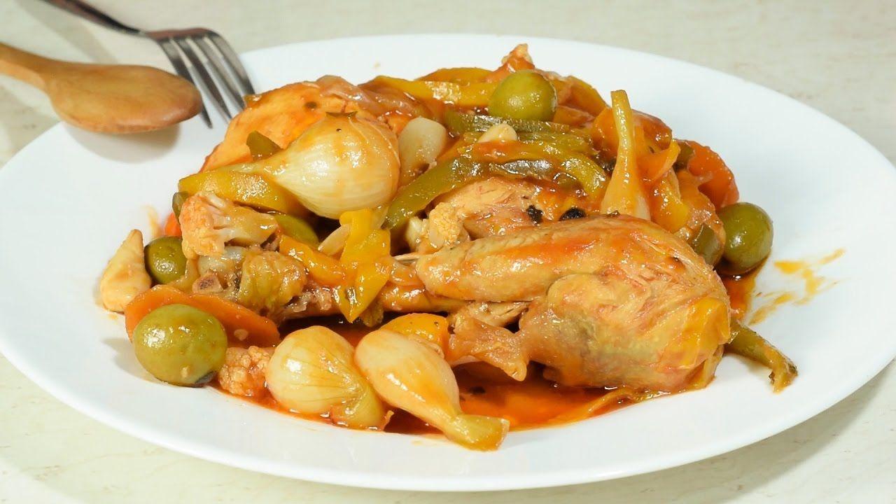 Pollo en Escabeche a mi Estilo NUNCA Visto!!!!!!!!!!! | recetas de ...