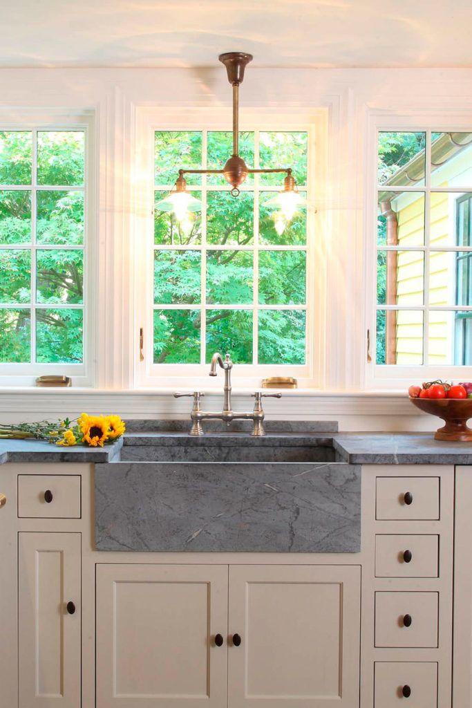 Soapstone Kitchen Countertops Ideas - Gray or Green or Black?
