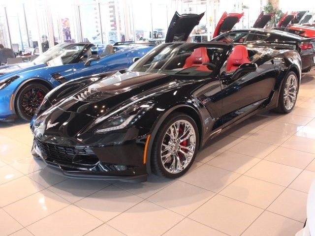 David Stanley Chevrolet Of Norman >> 2016 Corvette Z06 convertible - V8 Supercharged, 8-speed paddle shift with automatic modes ...