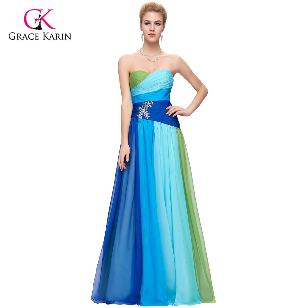 57.92$ Watch here - Fast Delivery Grace Karin Ombre Long Prom ...