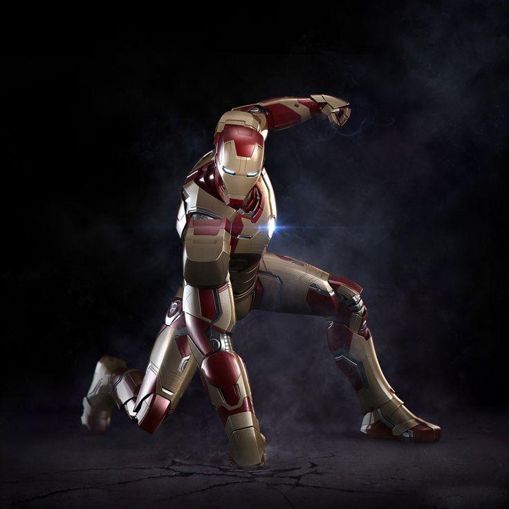 Iron Man 3 Armor Mark 42 Iron Mantony Stark Iron Man Iron Man