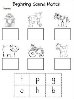 Kindergarten Stars: Fun On The Farm! (and a Freebie