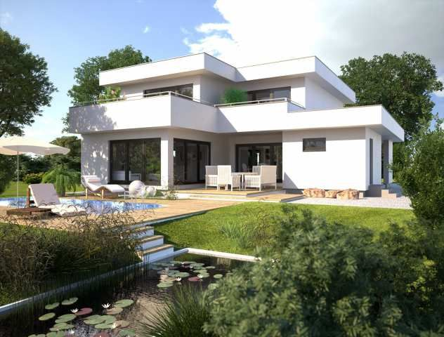 Das Hommage 246 überzeugt mit seiner geradlinigen Bauhausarchitektur. Während es bereits von außen einen großzügigen Eindruck vermittelt, zeigt sich das Innere ebenso weitläufig und modern.