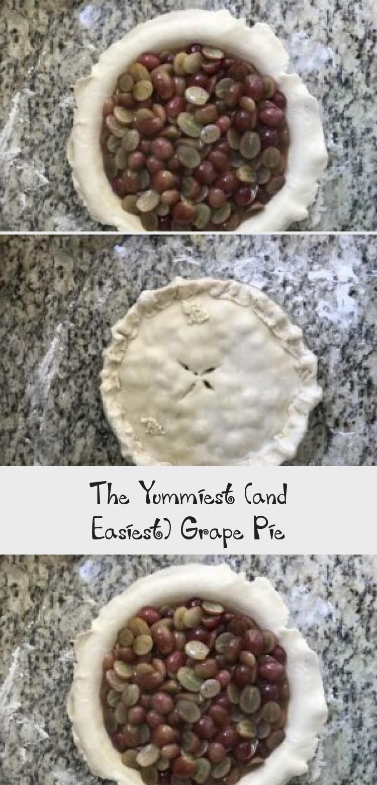 Photo of Grape pie is not a very common pie, but it is not one to pass up. Grape pie is a…