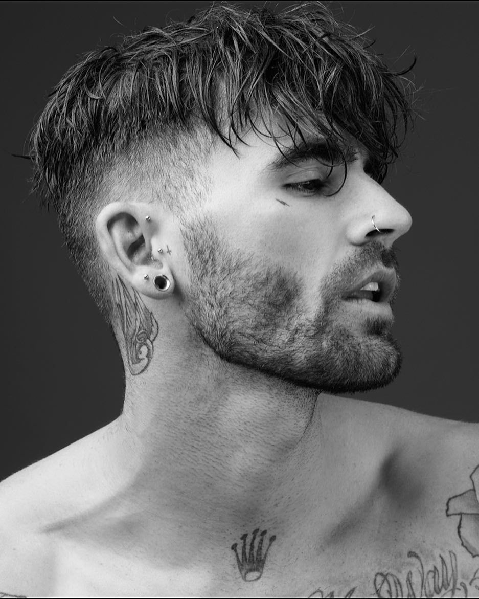 Haircut designs black men pin by raizel thanos on chris perceval  pinterest