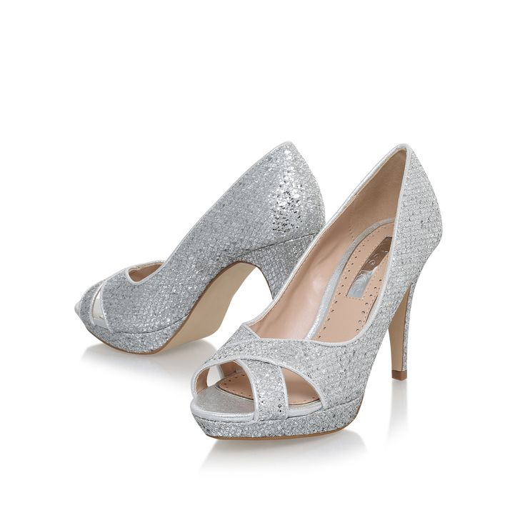 Kurt Geiger | ALBA Tan High Heel Sandals by Miss KG