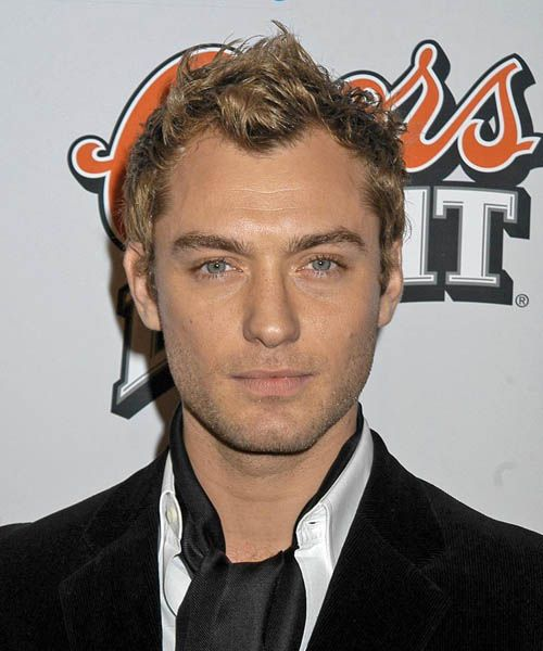 Jude Law Short Wavy Casual Hairstyle   The Lymond Chronicles: from ...