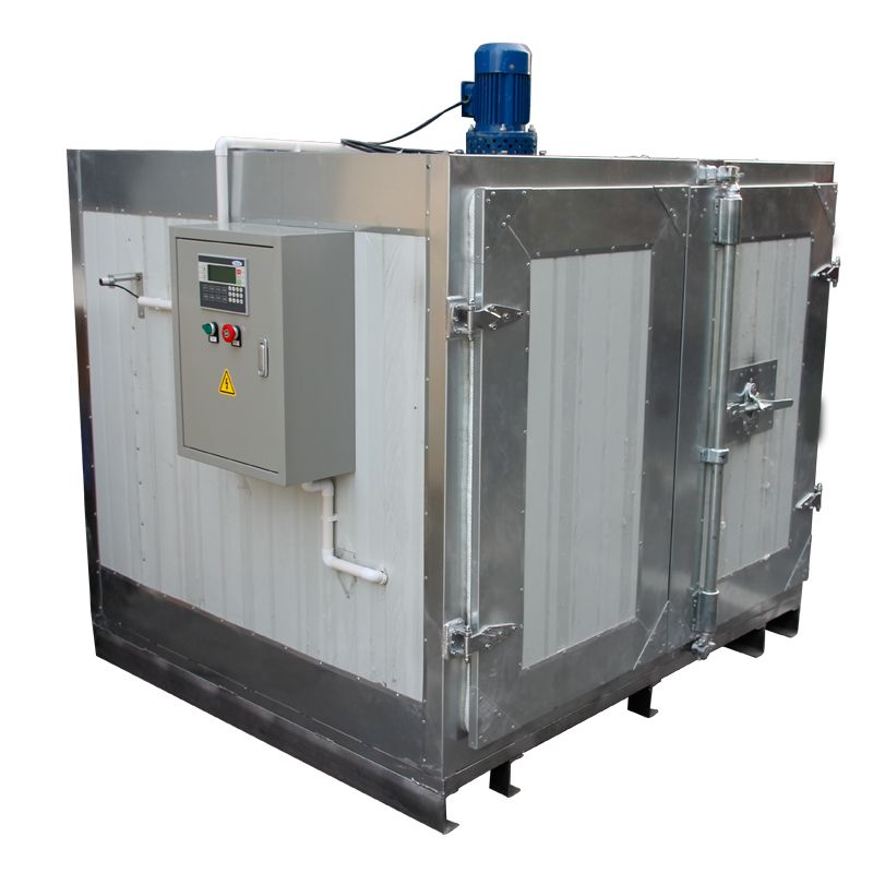 Industrial Powder Coating Oven Consists Of 100mm Insulation