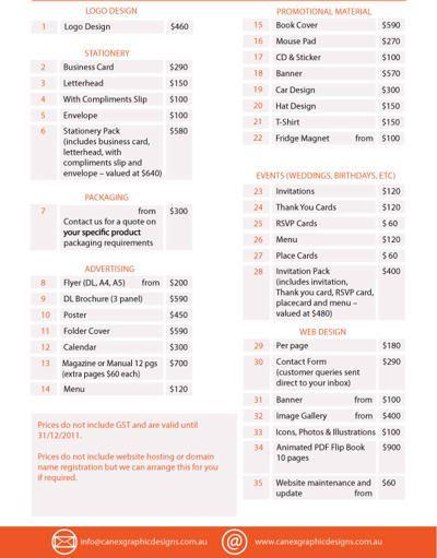 Graphic Design Prices Graphic Web Design Pricing Graphic Design Services Freelance Graphic Design