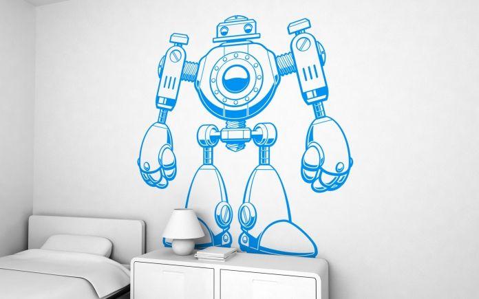 vinilo Jojo el robot (XXL) - vinilos infantiles para habitaciones ...