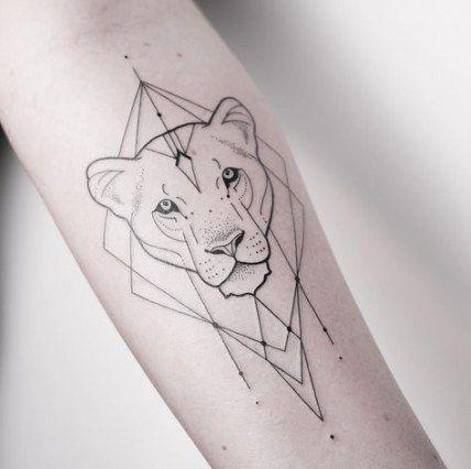 49+ Best Ideas Tattoo Lion Lioness Art