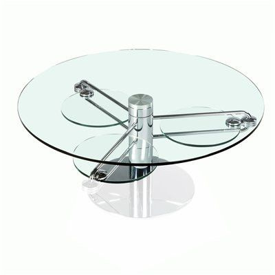 8169 Tempered Glass Coffee Table