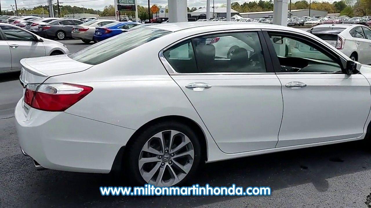 USED 2013 Honda ACCORD 4DR I4 CVT SPORT at Milton Martin