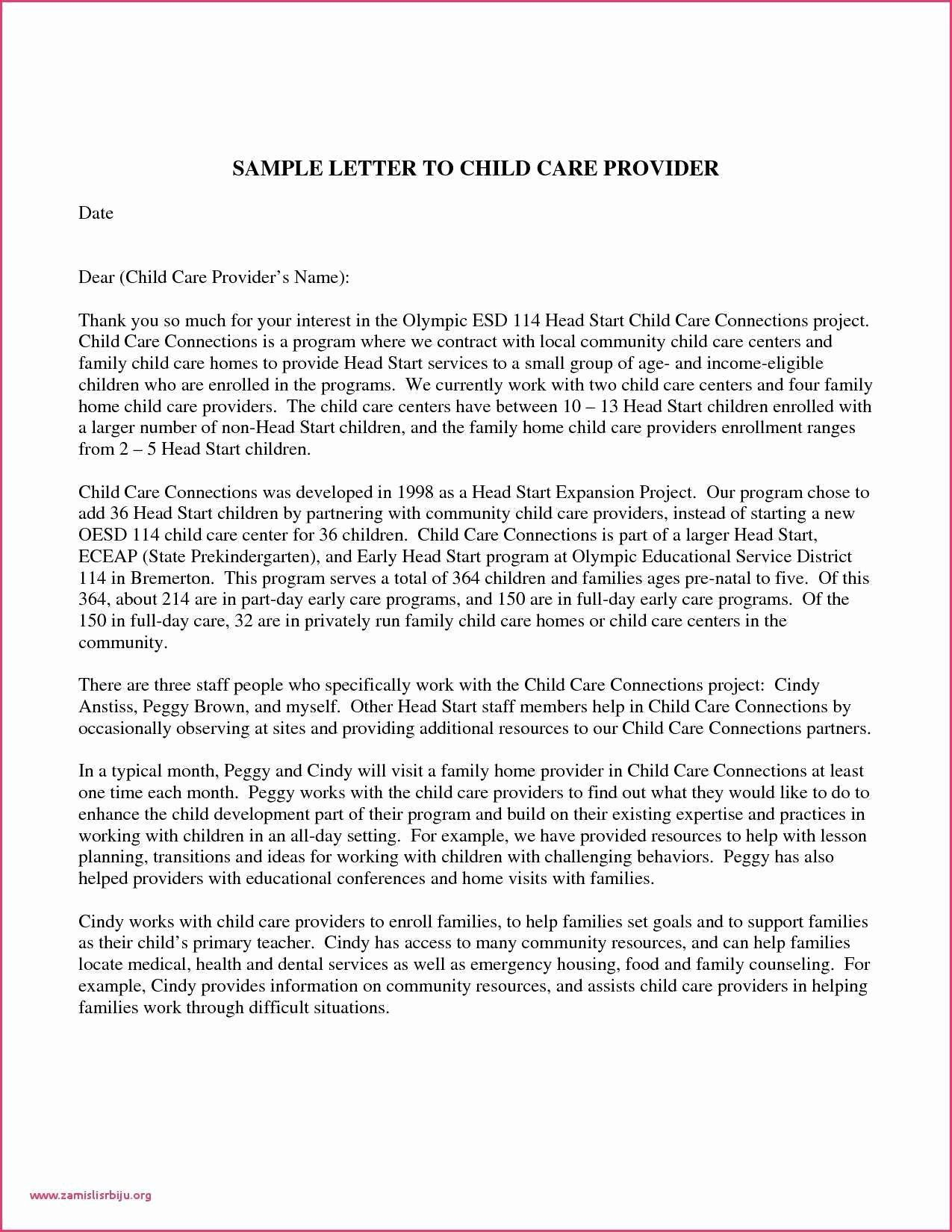 Letter Of Recommendation For Daycare Provider from i.pinimg.com