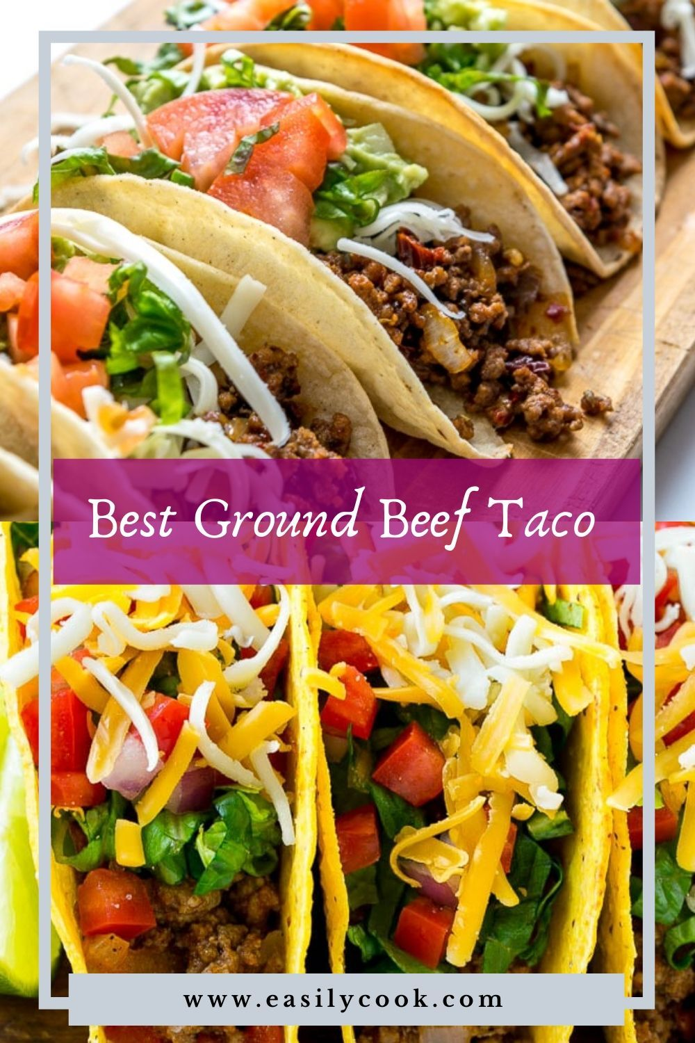 Best Ground Beef Taco Recipe Easilycook Recipe In 2020 Ground Beef Tacos Taco Recipes Ground Beef Beef Tacos Recipes
