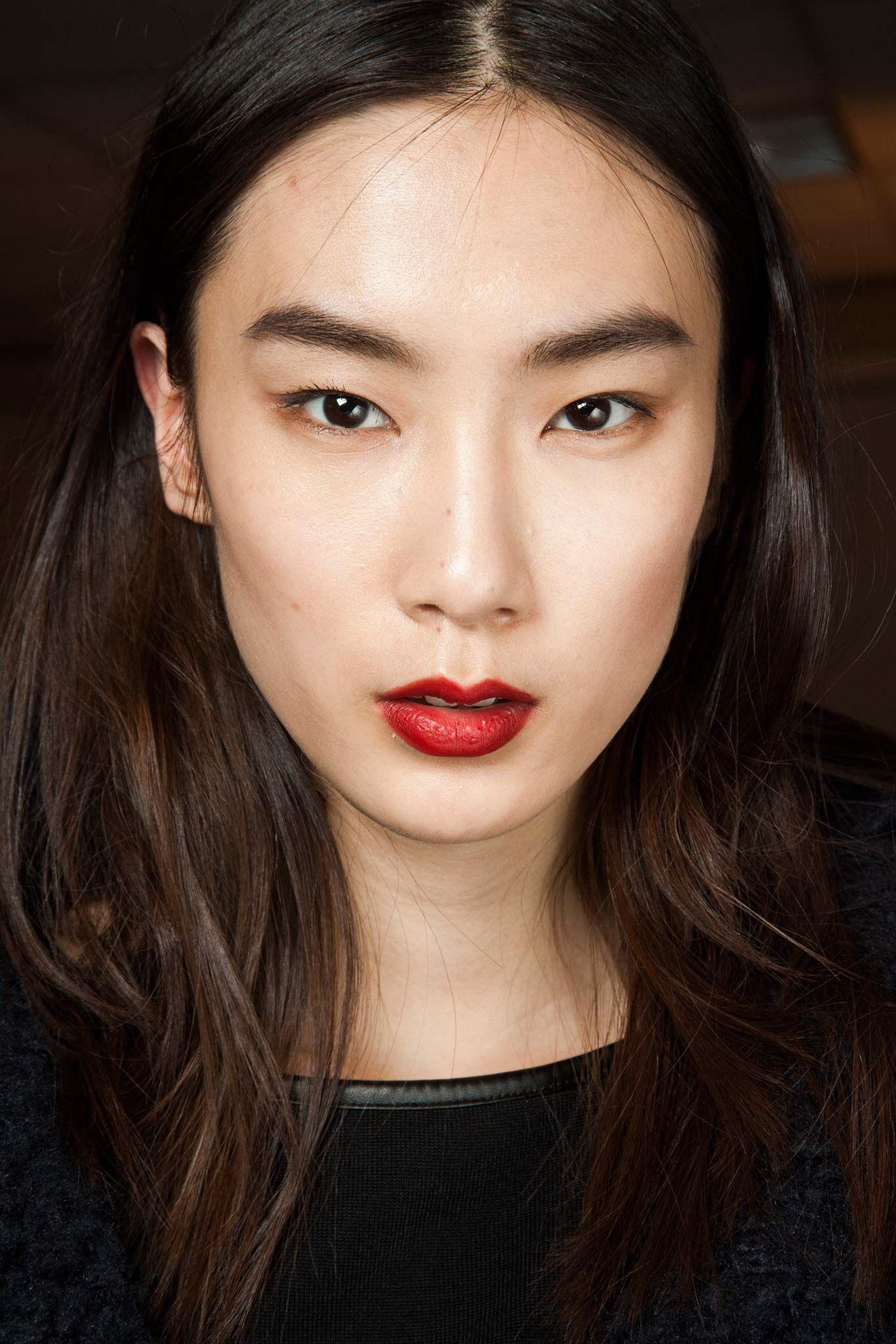 3.1 Phillip Lim, Look 31 Red lipstick makeup looks