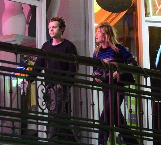 6091b179d7b Harry Styles Enjoys Date With Victoria s Secret model  Girlfriend  Camille  Rowe