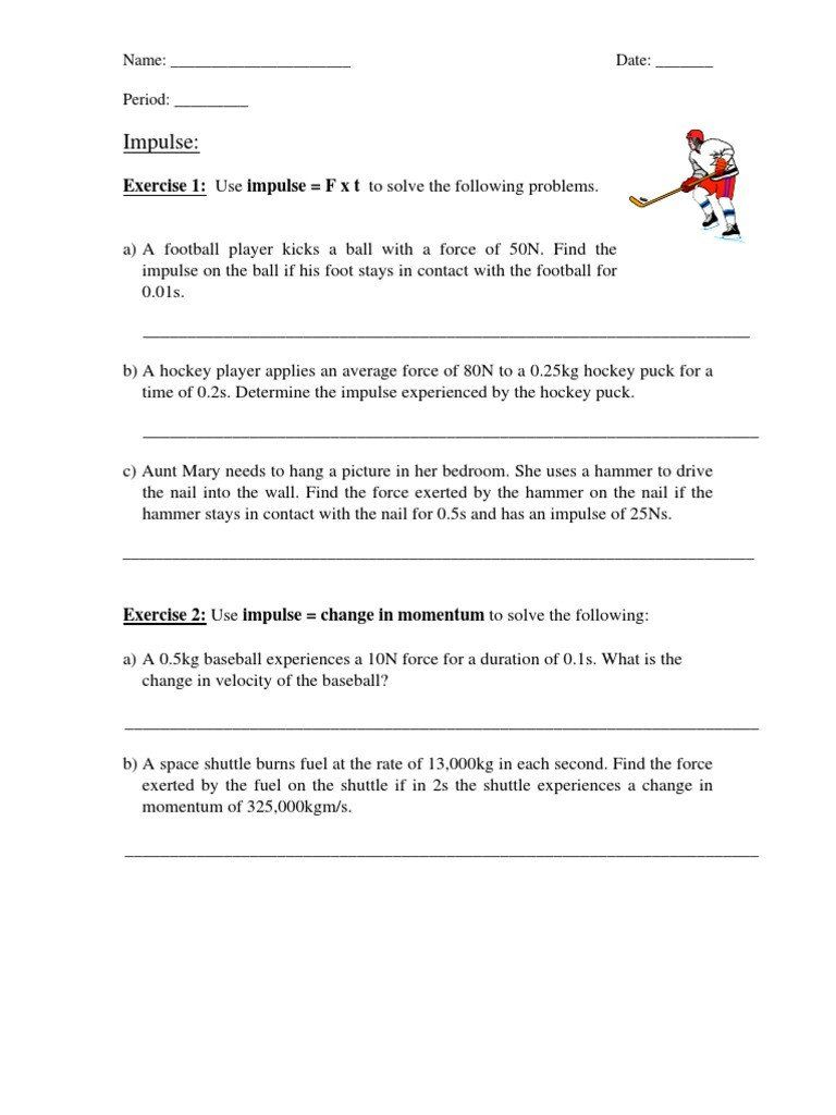 Momentum And Collisions Worksheet Answers Collisions Worksheet And Review Collision In 2020 Worksheets Word Problem Worksheets Answer Keys