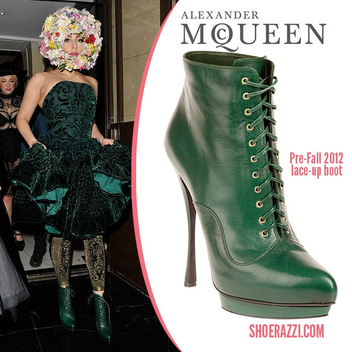 Lady Gaga and Alexander McQueen - Pre Fall 2012 collection