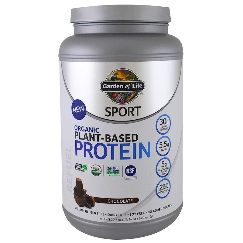 Garden Of Life Sport Organic Plant Based Protein Refuel