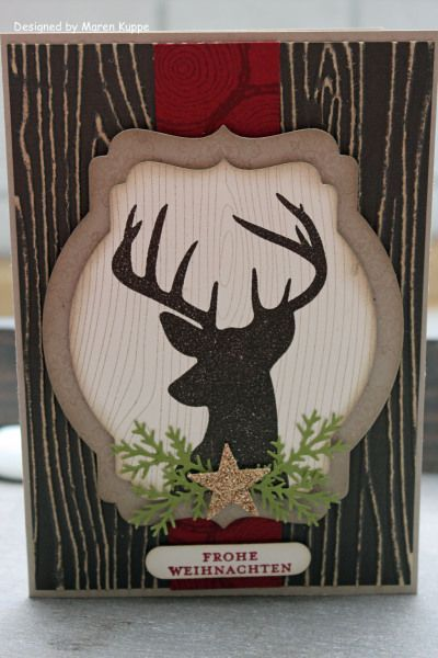 deer Christmas card
