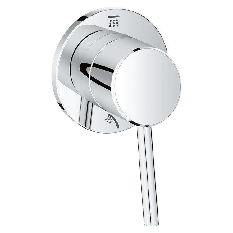 Grohe 29108001 Concetto Two Way Diverter Trim With Lever Handle
