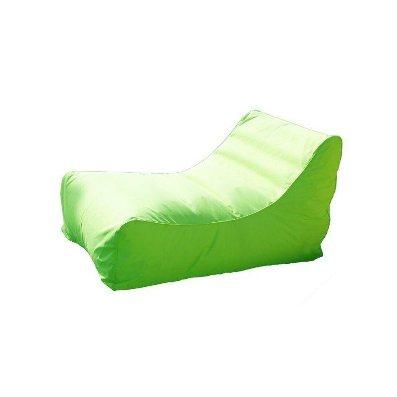 Pool lounger in mooie lime kleur uitvoering. Luxe opblaasbare zwembad stoel voor op het water of naast het zwembad. Design pool lounger! - € 49,95